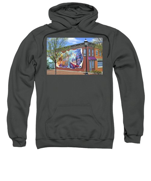 Riverside Gardens Park In Red Bank Nj Sweatshirt
