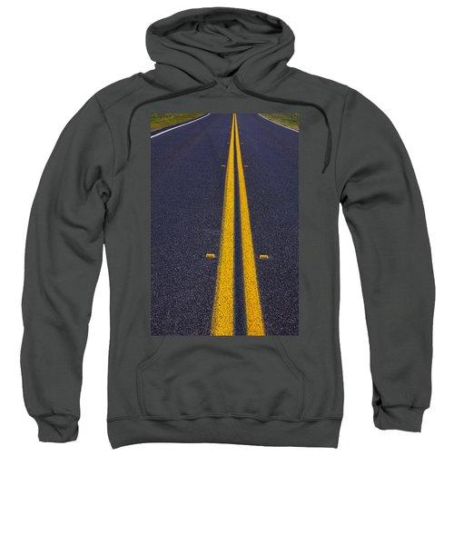 Road Stripe  Sweatshirt