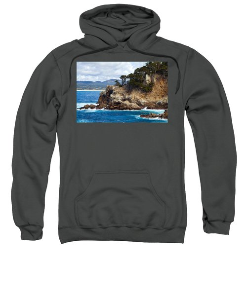 Rocky Outcropping At Point Lobos Sweatshirt