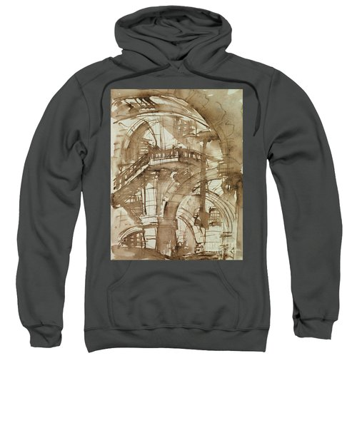 Roman Prison Sweatshirt by Giovanni Battista Piranesi