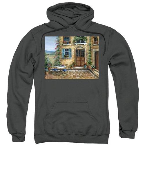 Romantic Courtyard Sweatshirt