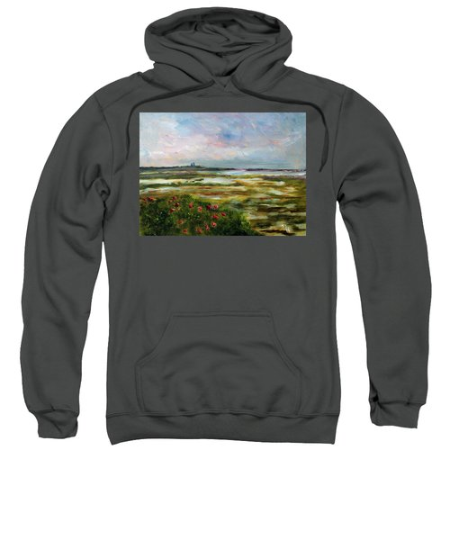 Roses Over The Marsh Sweatshirt