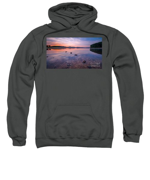 Round Valley Long Exposure 16x9 Sweatshirt