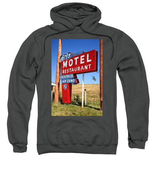Route 66 - Art's Motel Sweatshirt