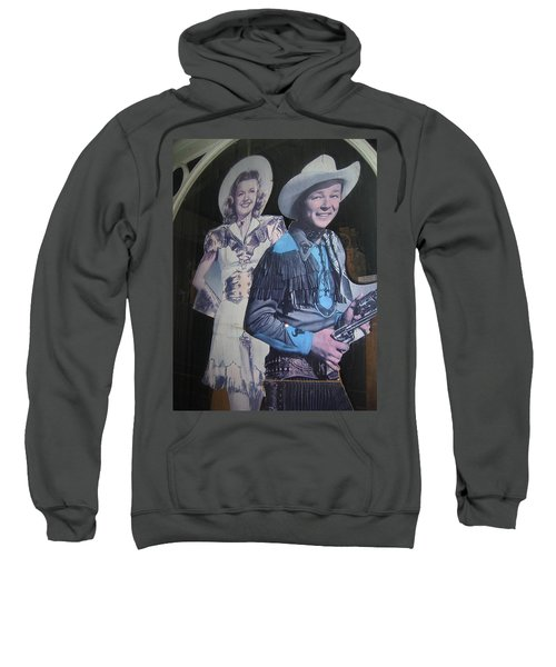 Roy Rogers And Dale Evans #2 Cut-outs Tombstone Arizona 2004 Sweatshirt