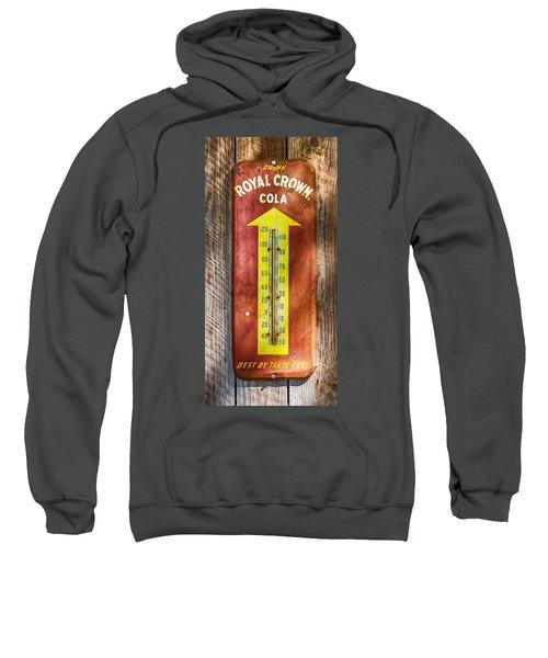 Royal Crown Barn Thermometer Sweatshirt