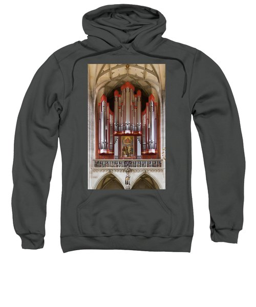 Royal Red King Of Instruments Sweatshirt