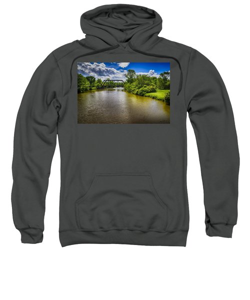 Sweatshirt featuring the photograph Royal River by Mark Myhaver