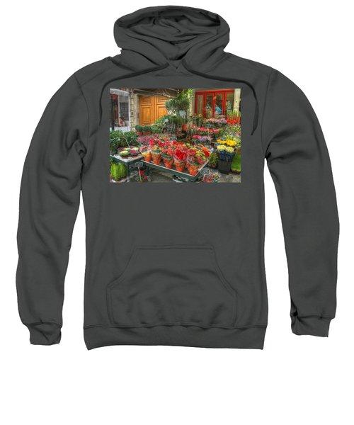 Rue Cler Flower Shop Sweatshirt