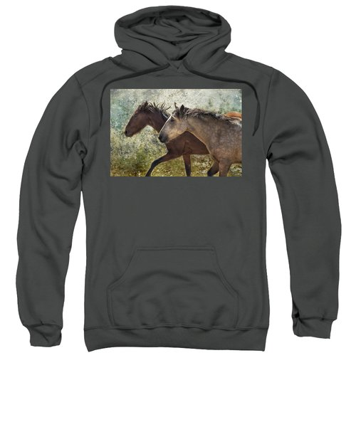 Running Free - Pryor Mustangs Sweatshirt