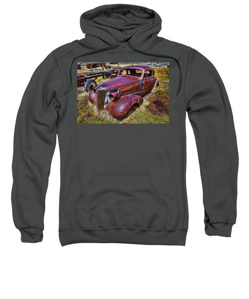 Rusting Away Auto Sweatshirt