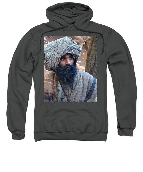 Sadhu At Amarkantak India Sweatshirt