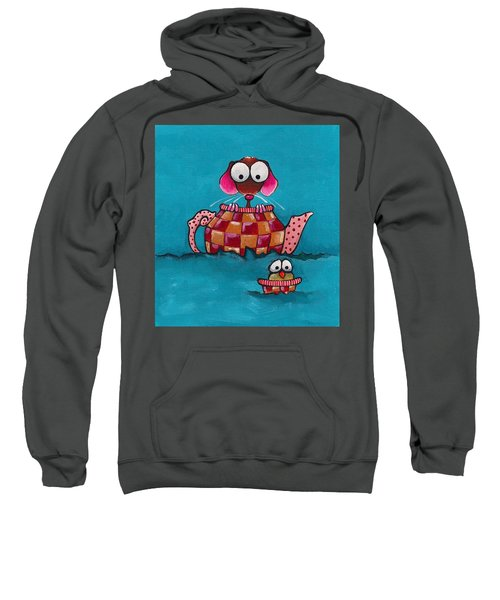 Sailing In A Teapot Sweatshirt