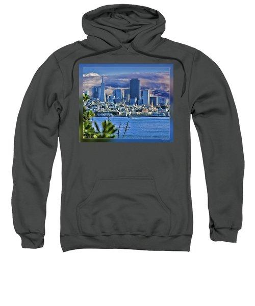 San Francisco From Alcatraz Sweatshirt