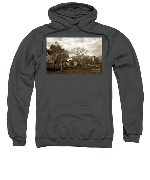 Santa Barbara Mission California Circa 1890 Sweatshirt
