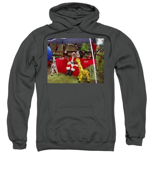 Santa Clausewith The Animals Sweatshirt