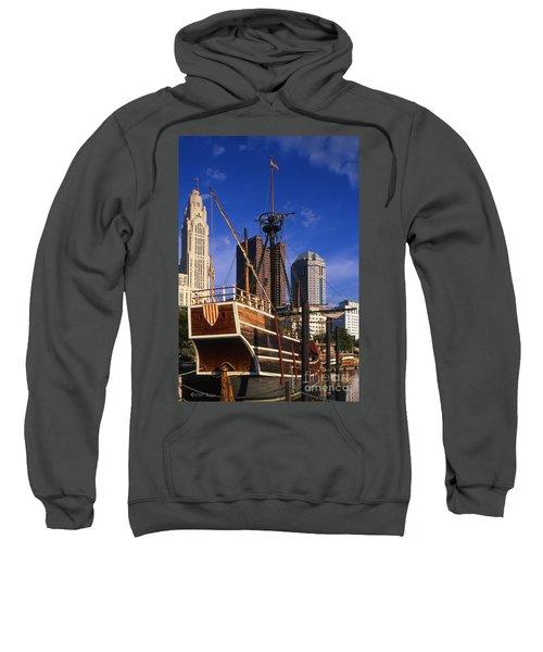 Santa Maria Replica Photo Sweatshirt