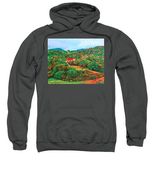 Scene From Mahogony Bay Honduras Sweatshirt
