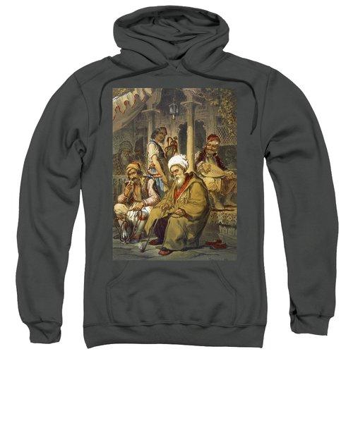 Scene In A Cafe, 1865 Sweatshirt