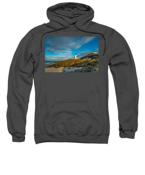 Seaweed Swagger And Time Traveling Clouds  At Annisquam Harbor L Sweatshirt