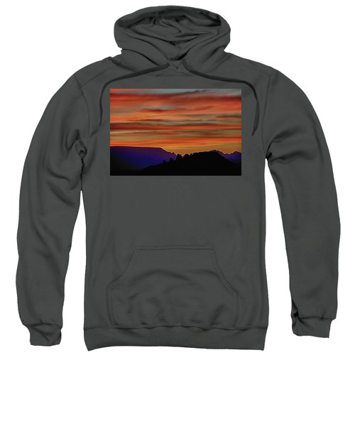 Sedona Az Sunset 2 Sweatshirt