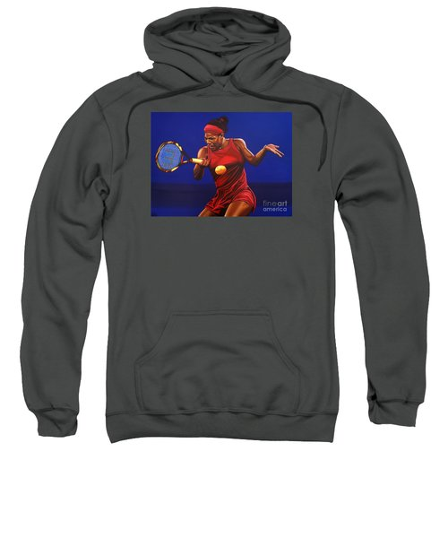 Serena Williams Painting Sweatshirt