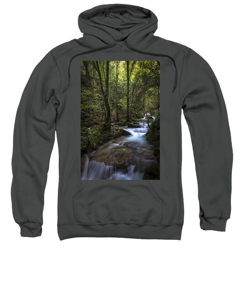 Sesin Stream Near Caaveiro Sweatshirt