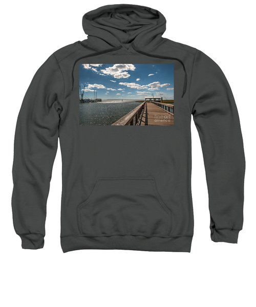 Shem Creek Pavilion  Sweatshirt