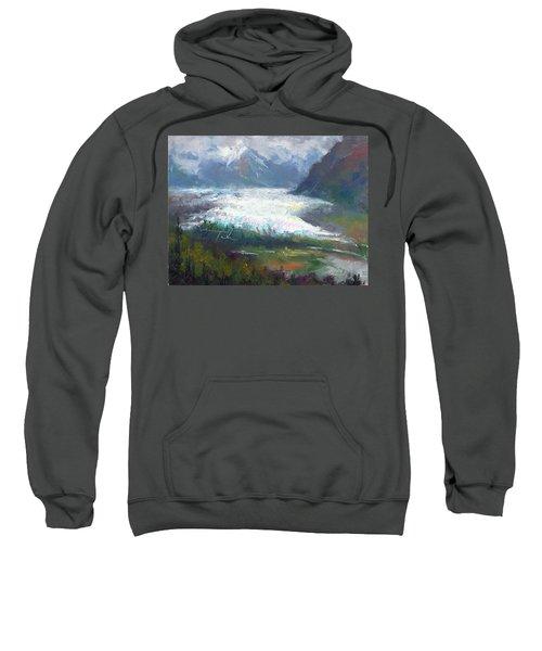 Shifting Light - Matanuska Glacier Sweatshirt