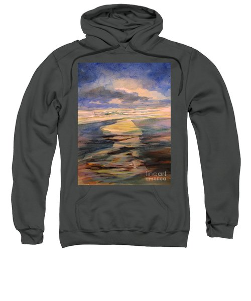 Shoreline Sunrise 11-9-14 Sweatshirt
