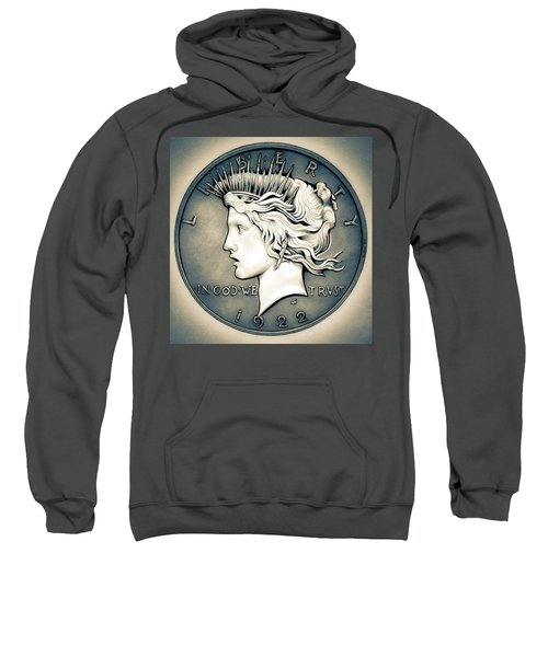 1922 Silver Proof Peace Dollar Sweatshirt