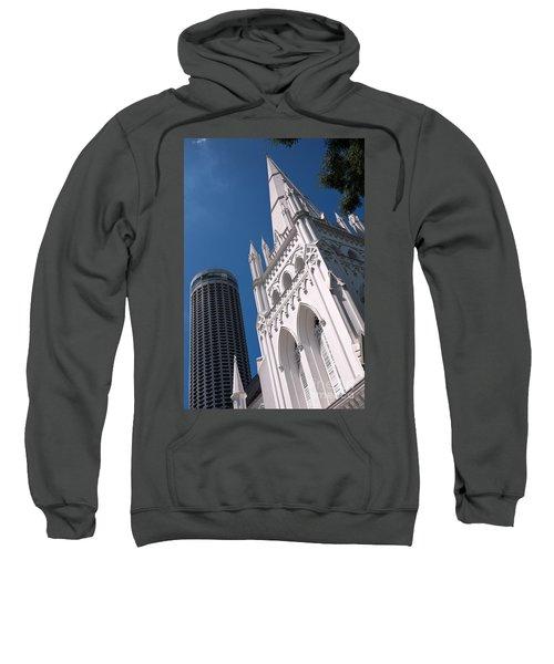 Singapore St Andrews Cathedral 05 Sweatshirt