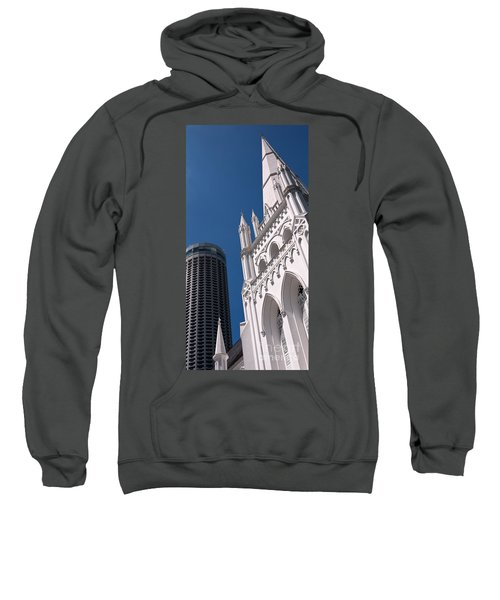 Singapore St Andrews Cathedral 06 Sweatshirt