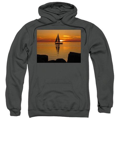 Sister Bay Sunset Sail 2 Sweatshirt