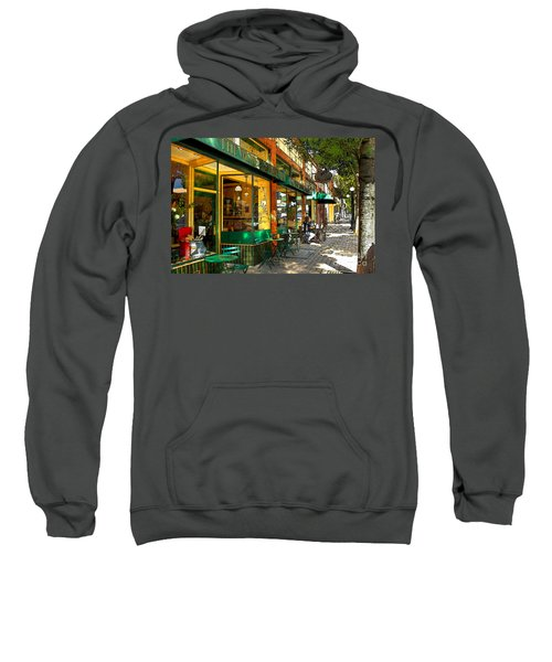 Sitting At The Bakery Sweatshirt