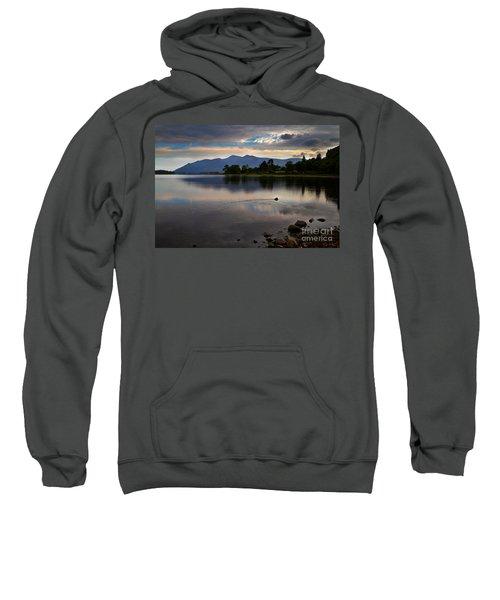 Skiddaw And Derwent Water At Dawn Sweatshirt
