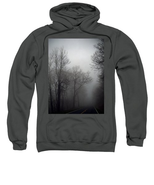Skyline Drive In Fog Sweatshirt