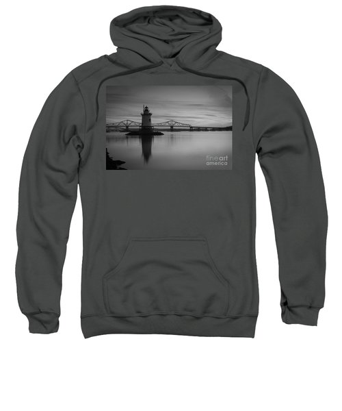 Sleepy Hollow Lighthouse Bw Sweatshirt