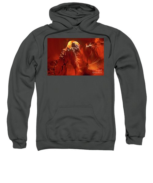 Slot Canyon Formations In Upper Antelope Canyon Arizona Sweatshirt