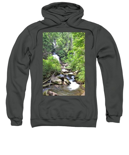 Smith Creek Downstream Of Anna Ruby Falls - 3 Sweatshirt