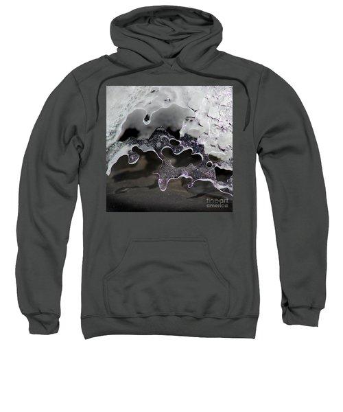 Snow And Ice Square Sweatshirt