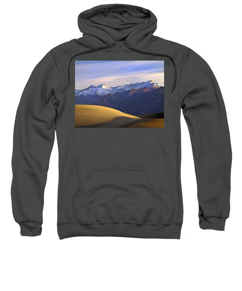Snow On The Grapevine Range.  Sweatshirt