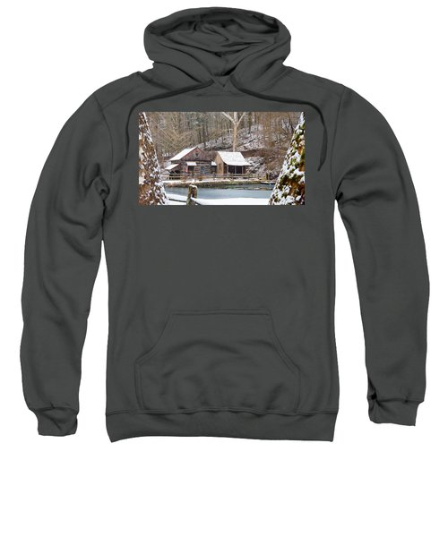 Snowy Morning In The Woods Sweatshirt