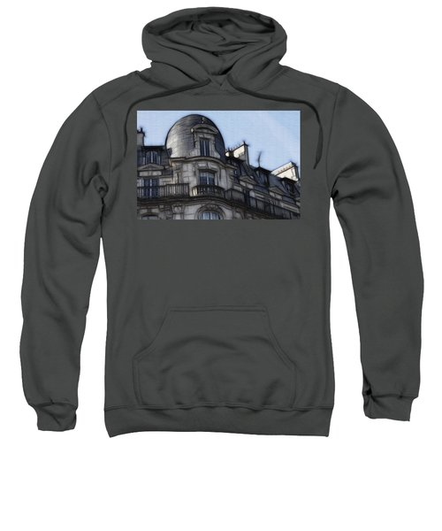 Softer Side Of Paris Architecture Sweatshirt