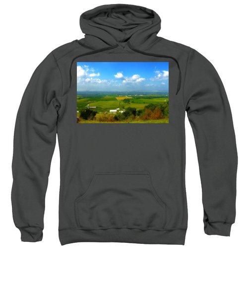 Southern Illinois River Basin Farmland Sweatshirt