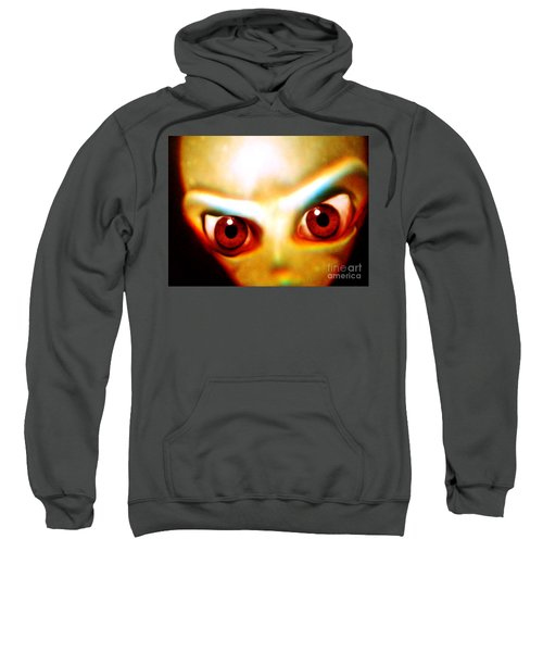Space Alien Sweatshirt