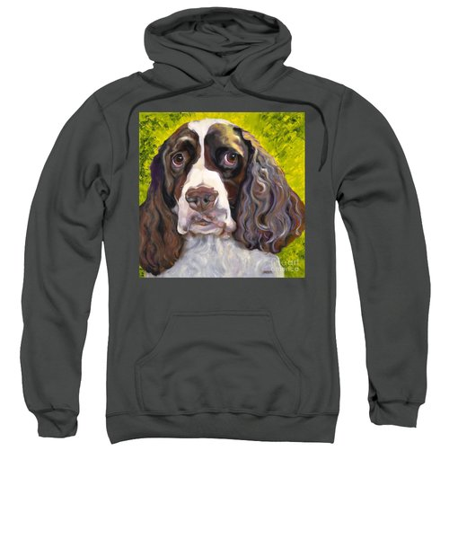 Spaniel The Eyes Have It Sweatshirt