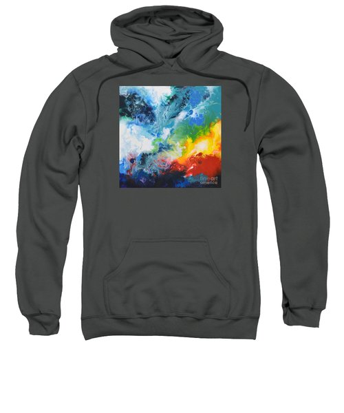 Spark Of Life Canvas Two Sweatshirt