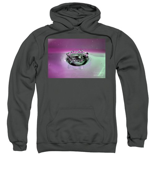 Splash Of Purple Sweatshirt
