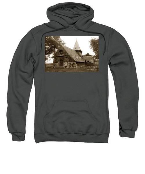 St. Johns Chapel Del Monte Monterey California 1895 Sweatshirt